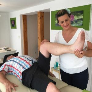 Das Knie in Markdorf behandeln